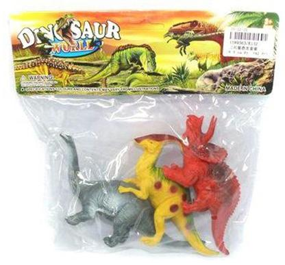 Набор фигурок Shantou Gepai Dinosaur World K132 набор фигурок good dinosaur буч и трицератопс 62302