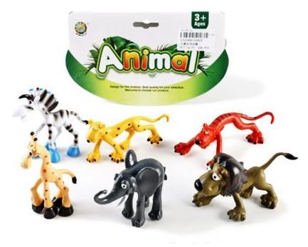 Набор фигурок Shantou Gepai Дикие животные 0082P набор фигурок shantou gepai дикие животные