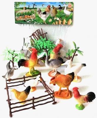 Набор фигурок Shantou Gepai Green Farm 8 см 2C214-4 набор фигурок shantou gepai домашние животные 4 см 866 c31
