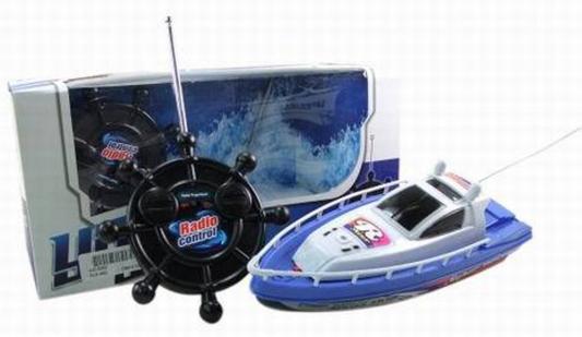 Катер на радиоуправлении Shantou Gepai Детский пластик от 4 лет синий катер на радиоуправлении shantou gepai yacht racing пластик от 3 лет цвет в ассортименте 4 канала
