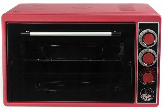Мини-печь Чудо Пекарь ЭДБ-0123 красный мини печь чудо пекарь эдб 0123 сереб мет