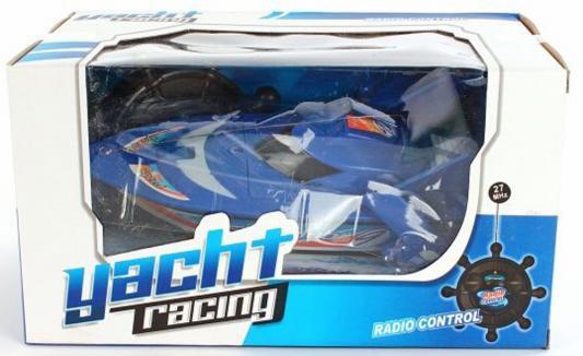 Катер на радиоуправлении Shantou Gepai Yacht Racing пластик от 3 лет цвет в ассортименте 4 канала мотоцикл на радиоуправлении shantou gepai мотоцикл пластик от 3 лет цвет в ассортименте