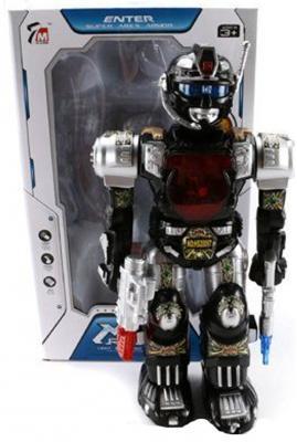 Робот электронный Shantou Gepai со звуком светящийся 7M-404 боевой робот shantou gepai воин галактики 30 см двигающийся со звуком светящийся 6007