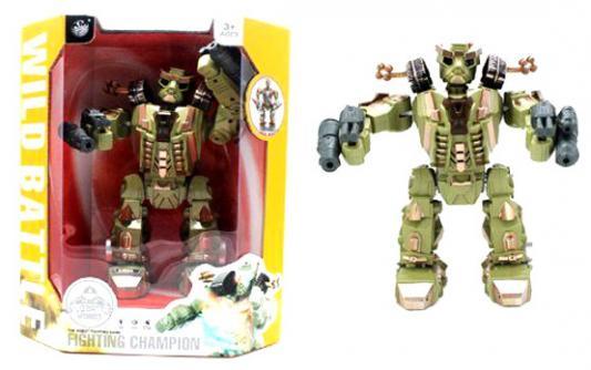 Робот электронный Shantou Gepai двигающийся 2028-2+A боевой робот shantou gepai воин галактики 30 см двигающийся со звуком светящийся 6007