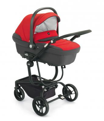 Коляска 3-в-1 Cam Comby Taski (691/красный-графит) коляска cam cam коляска 3 в 1 taski 691 красный графит