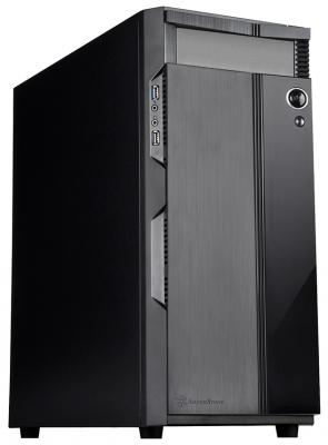 Корпус ATX SilverStone Precision Без БП чёрный SST-PS14B корпус silverstone case ss grandia gd06b black sst gd06b