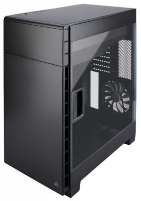 Корпус ATX Corsair Carbide Series Clear 600C Inverse Black Window Без БП чёрный CC-9011079-WW корпус corsair crystal series 460x rgb cc 9011101 ww без бп black