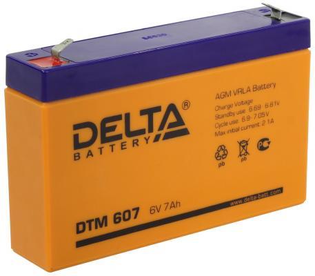 Батарея Delta DTM 607 dtm 1217