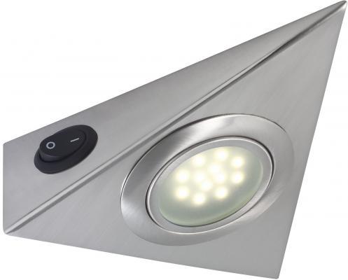Мебельный светодиодный светильник Paulmann Micro Line Led Triangle 98518 мебельный светильник paulmann slimline micro 75121