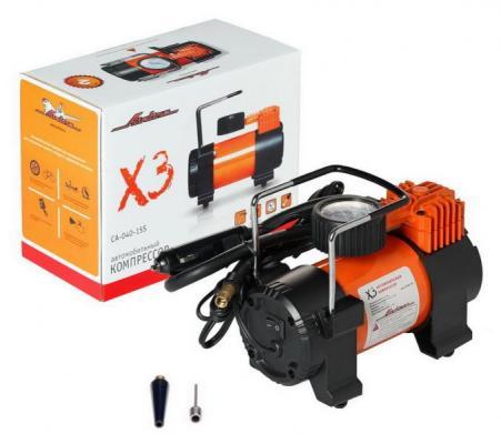 Автомобильный компрессор Airline X3 CA-040-15S компрессор для шин 12v 14