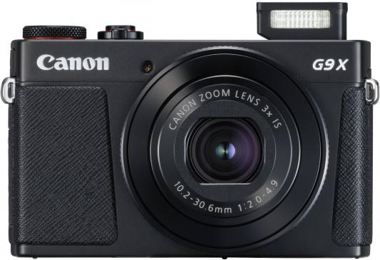Фотоаппарат Canon PowerShot G9 X Mark II 20.2Mp 3xZoom черный 1717C002