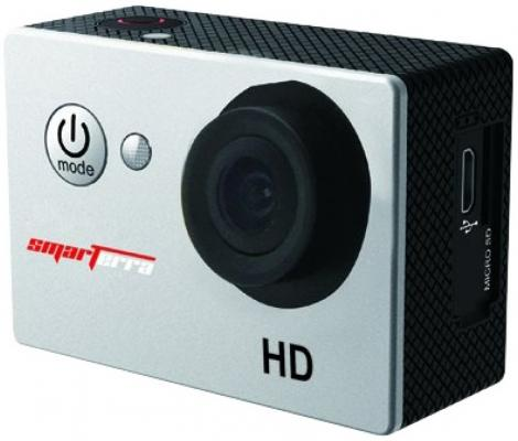 Экшн-камера Smarterra B1 серебристый