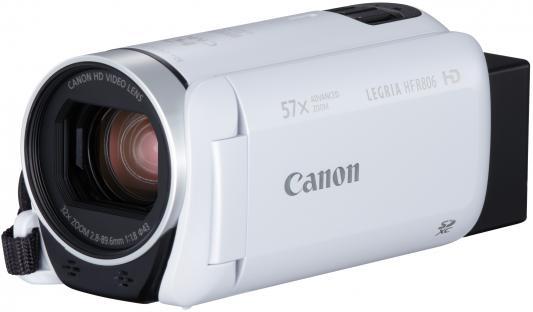 Цифровая видеокамера Canon Legria HF R806 белый цифровая видеокамера canon legria hf r706 черный 1238c003
