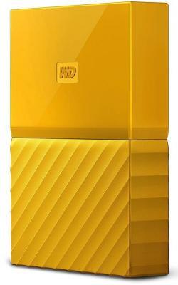 Внешний жесткий диск 2.5 USB3.0 4 Tb Western Digital My Passport WDBUAX0040BYL-EEUE желтый