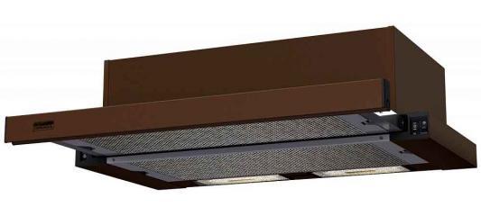Вытяжка встраиваемая Krona Kamilla 600 коричневый 20610