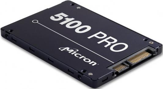 "все цены на Твердотельный накопитель SSD 2.5"" 960Gb Crucial Micron 5100PRO Read 540Mb/s Write 520Mb/s SATAIII MTFDDAK960TCB-1AR1ZABYY онлайн"