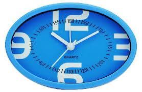 Будильник Вега Пробуждение гарантировано синий 7706