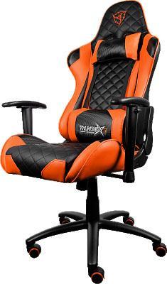 Кресло компьютерное игровое Thunder X3 TGC12 оранжево-черный TGC12-BO thunderx3 tgc40 игровое кресло black red