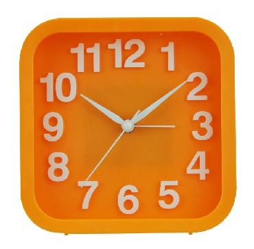 Будильник Вега Удачное утро оранжевый 6091