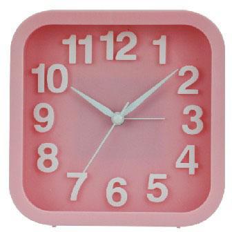 Будильник Вега Удачное утро 6091 розовый