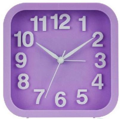 Будильник Вега Удачное утро 6091 фиолетовый кронштейн kromax vega 50 белый