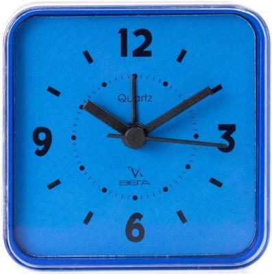 Будильник Вега Хорошо спалось синий 6632