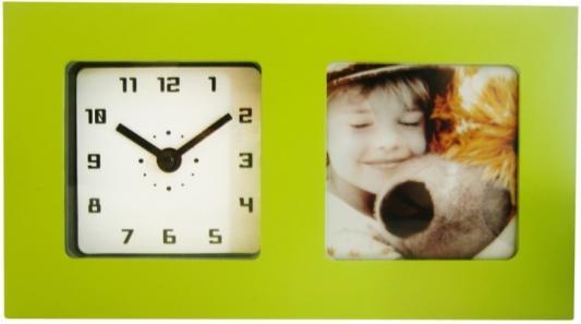 Часы-фоторамка Вега 6409 зелёный кронштейн kromax vega 50 белый