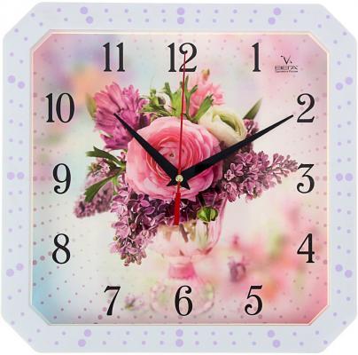 Часы настенные Вега П4-7134-7-75 разноцветный рисунок кронштейн kromax vega 50 белый