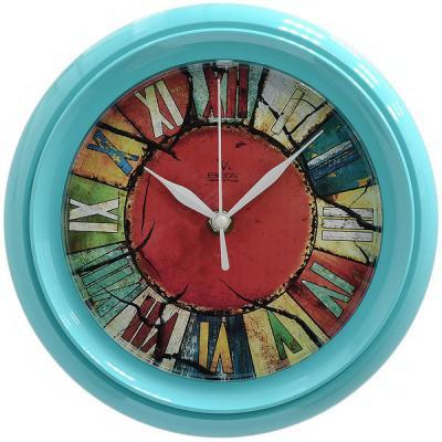 Часы настенные Вега Калейдоскоп П6-16-27 рисунок разноцветный кронштейн kromax vega 50 белый