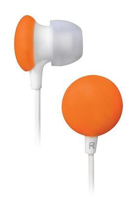 Наушники BBK EP-1170S белый/оранжевый