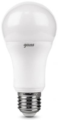 Лампа светодиодная E27 12W 4100K груша матовая 102502212 gauss лампа светодиодная gauss груша матовая a70 e27 22w 4100k 102502222
