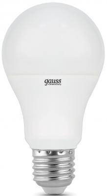 Лампа светодиодная шар Gauss Elementary E27 10W 3000K 23210 лампочка gauss elementary led e27 a60 10w 3000k 23210