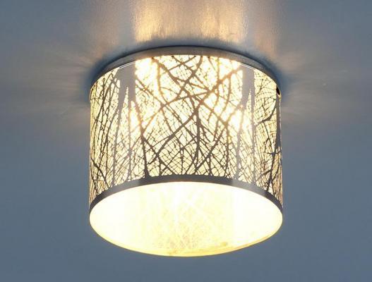 Встраиваемый светильник Elektrostandard 8403 G4 хром/белый (CH/WH) 4690389017100