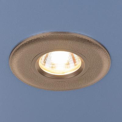 Встраиваемый светильник Elektrostandard 107 MR16 GD золото 4690389076244