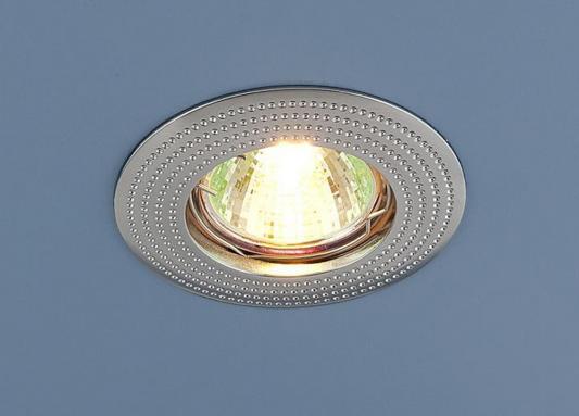 Встраиваемый светильник Elektrostandard 601 MR16 CH хром 4690389011030