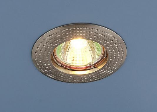 Встраиваемый светильник Elektrostandard 601 MR16 SN сатин никель 4690389011023