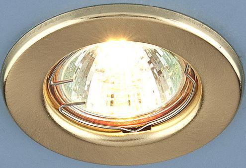 Встраиваемый светильник Elektrostandard 9210 MR16 SGD золото матовое 4690389055577
