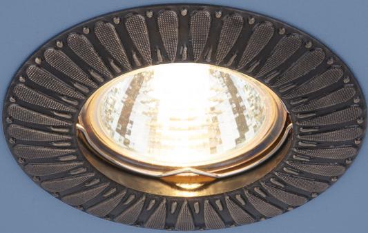 Встраиваемый светильник Elektrostandard 7203 MR16 GAB бронза 4690389044540