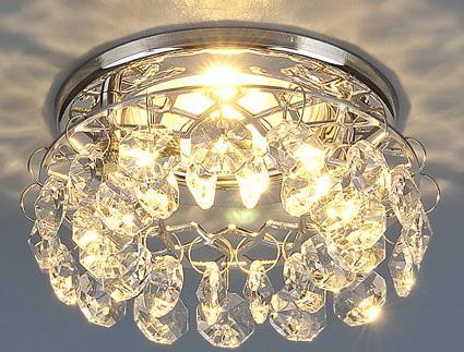 Встраиваемый светильник 7070 MR16 СH/CL хром/прозрачный 4607176197327 самсунг ля флер 7070 купить