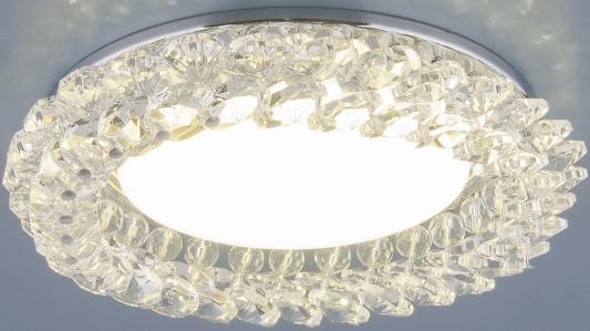 Встраиваемый светильник Elektrostandard 1063 GX53 CH/CL хром/прозрачный 4690389075667 встраиваемый светильник elektrostandard 1066 gx53 ch хром 4690389078682