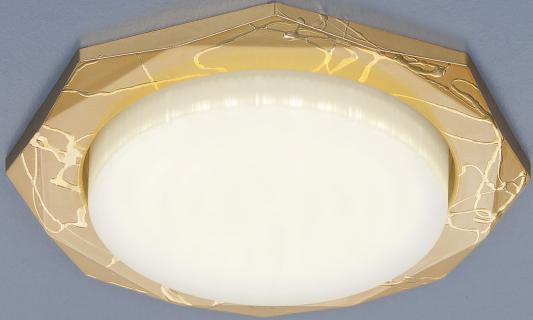 Встраиваемый светильник Elektrostandard 1065 GX53 GD золото 4690389076206