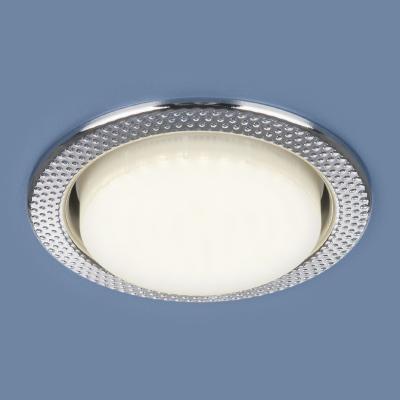 Встраиваемый светильник Elektrostandard 1066 GX53 CH хром 4690389078682 встраиваемый светильник elektrostandard 1066 gx53 ch хром 4690389078682