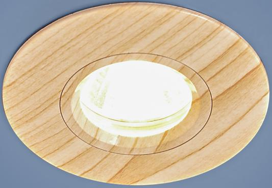 Фото - Встраиваемый светильник Elektrostandard 108 MR16 BG беленый дуб 4690389081866 cветильник галогенный de fran встраиваемый 1х50вт mr16 ip20 зел античное золото