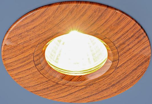 Встраиваемый светильник Elektrostandard 108 MR16 BR дуб 4690389081859 встраиваемый светильник elektrostandard 108 mr16 br дуб 4690389081859