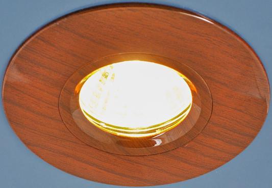 Встраиваемый светильник Elektrostandard 108 MR16 VNG венге 4690389081842 встраиваемый светильник elektrostandard 108 mr16 br дуб 4690389081859