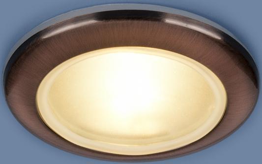 Встраиваемый светильник Elektrostandard 1080 MR16 RAB медь 4690389060502