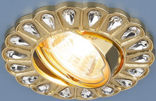 Встраиваемый светильник Elektrostandard 120078 MR16 GD золото 4690389066078