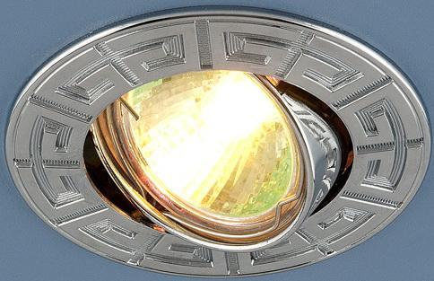 Встраиваемый светильник Elektrostandard 120090 MR16 CH хром 4607138148190