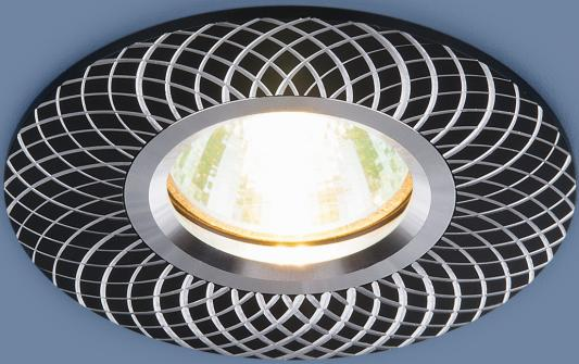 Встраиваемый светильник Elektrostandard 2006 MR16 BK черный 4690389066436 elektrostandard алюминиевый точечный светильник elektrostandard 2006 mr16 bk черный 4690389066436