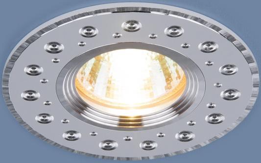 Фото - Встраиваемый светильник Elektrostandard 2008 MR16 WH белый 4690389066405 cветильник галогенный de fran встраиваемый 1х50вт mr16 ip20 зел античное золото